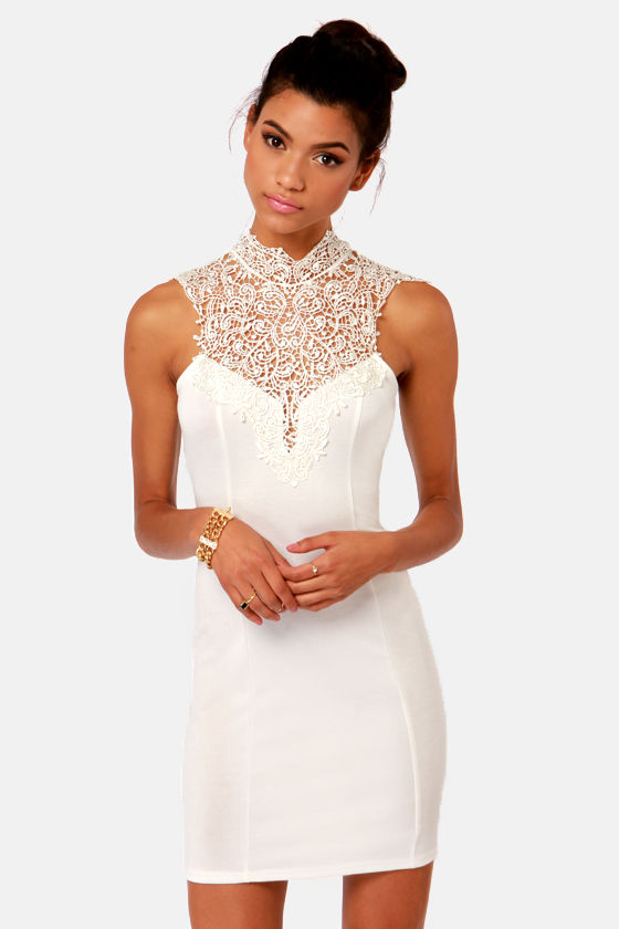 Dress white chiffon shop for dress white chiffon on for Online stores like lulus