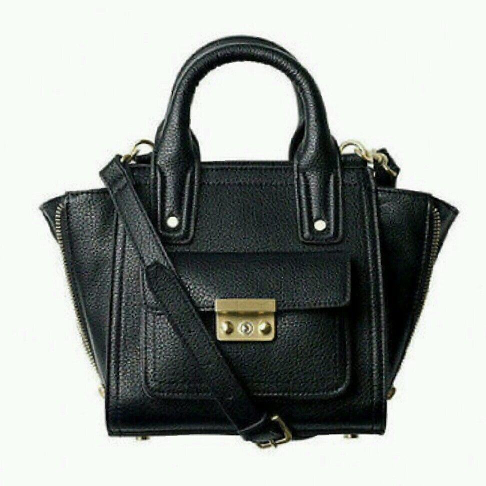 Philip Lim Target Black Mini Satchel Pashli Handbag Crossbody | eBay