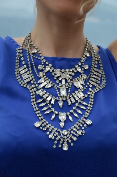 jewels necklace statement