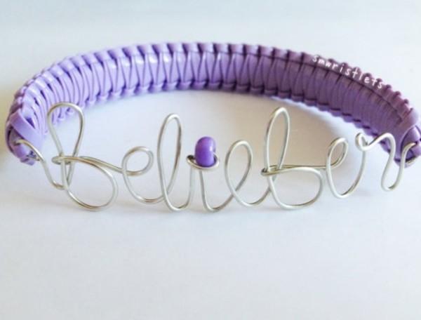 jewels justin bieber belieber bracelets