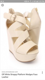 shoes,wedge sandals,nude,sandals,plateau shoes,heels