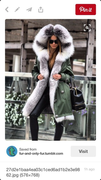 coat olive green