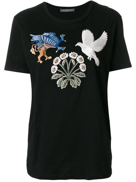 Alexander Mcqueen t-shirt shirt t-shirt women cotton black top