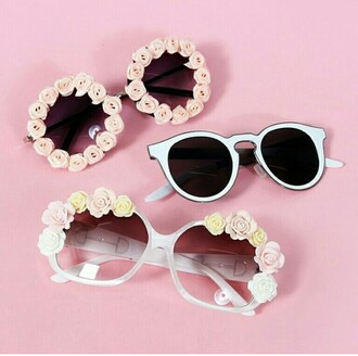 sunglasses rose rosettes