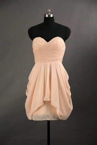 dress blush beige