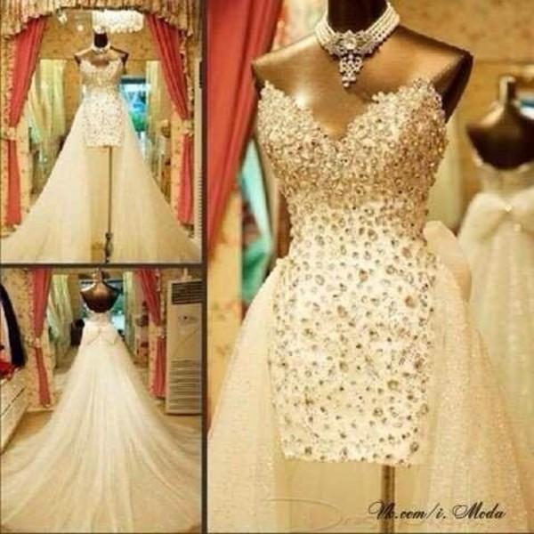 dress high low dress white dress