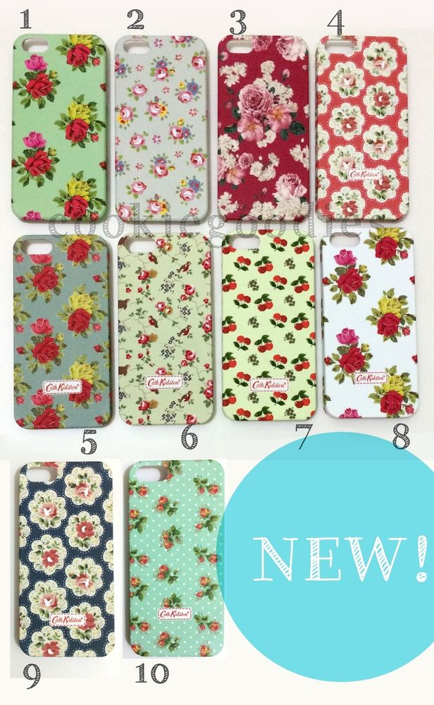 Floral Pattern Cath Kidston Case for IPHONE5 5S Hard Snap on Vintage Rose | eBay