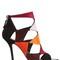 100mm prismik cutout suede sandals