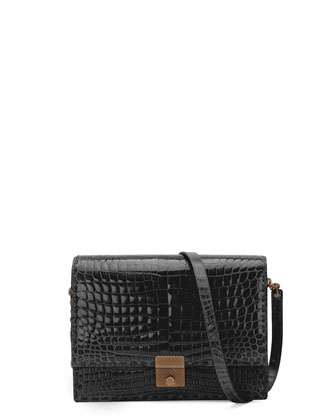 Saint Laurent Betty Mini Chain Shoulder Bag, Black - Bergdorf Goodman