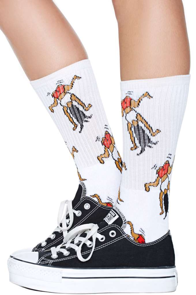 Now Twerk Socks at Nasty Gal
