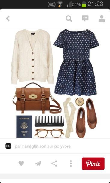 bag dress brown bookworm lovely