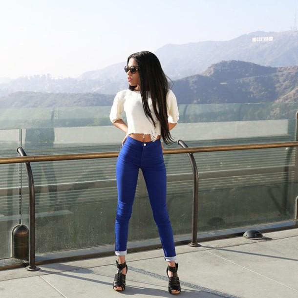 jeans teala dunn blouse shoes