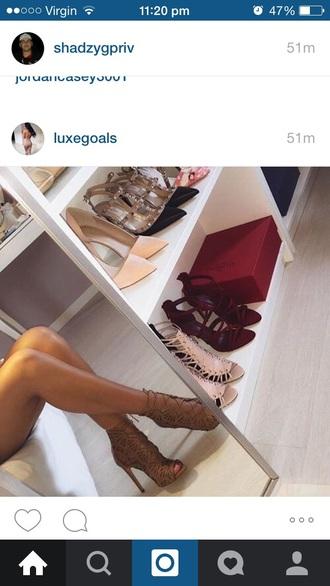 shoes heels beige pretty trendy fashion love high girl