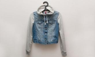 jacket denim hooded jacket demin hoodied jacket blue denim hoodied jackets