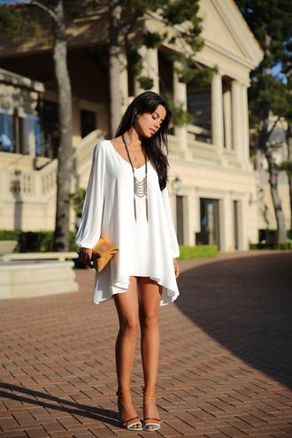 viva luxury dress jewels bag shoes white dress tunic dress short dress sandals aphrodite dress blue dress light blue dresses style graduation dress summer dress casual