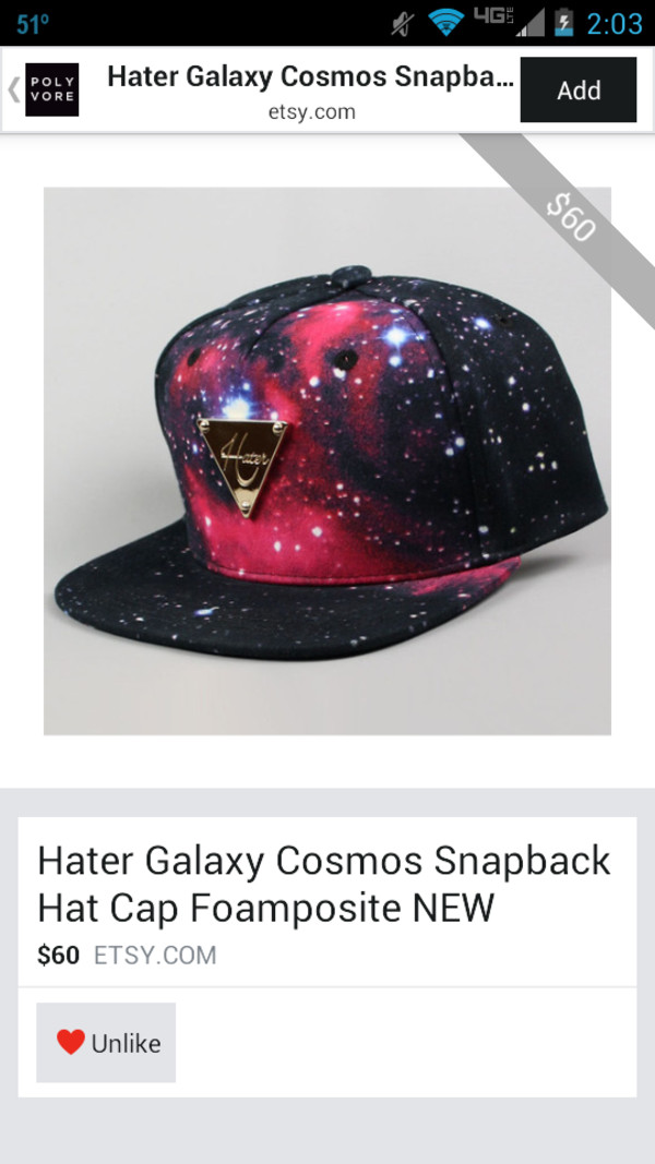 galaxy print haters