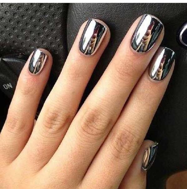 Nail Polish Metal Chrome