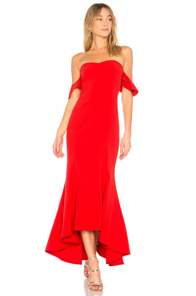 Likely gown red dress
