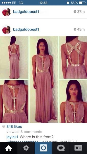 Breaunna womack prom dress
