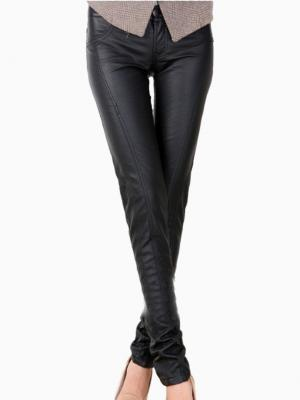 Black PU Skinny Pants | Choies