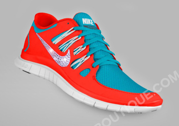 red white and blue nike free runs