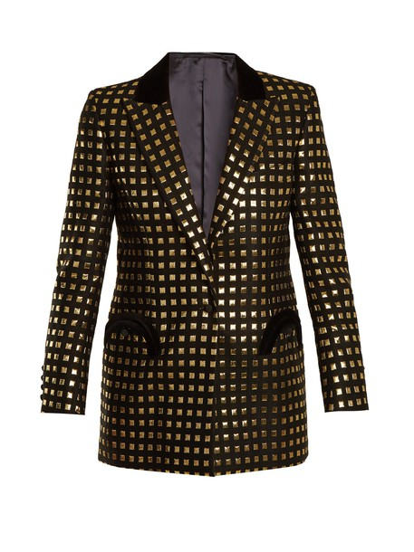 BLAZÉ MILANO blazer jacquard gold black jacket