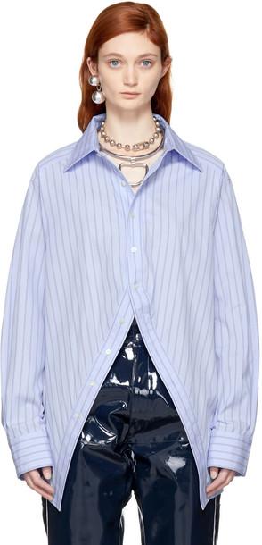 AMBUSH shirt blue top