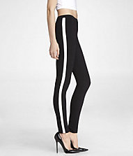 SEXY STRETCH SIDE STRIPE LEGGING | Express