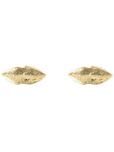Wouters & Hendrix women earrings stud earrings silver grey metallic jewels