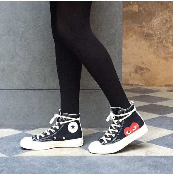 CONTACT. comme des garcons converse high top c07b496e0