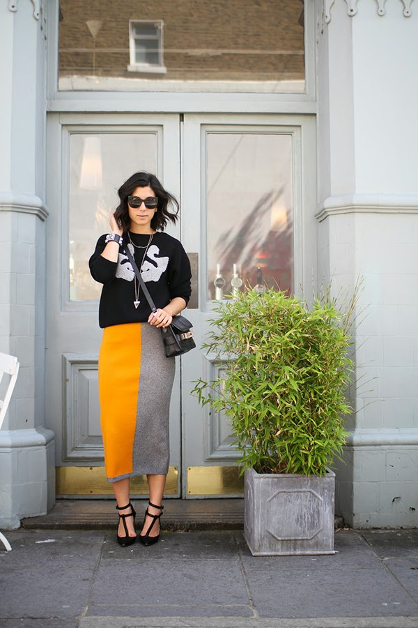 this time tomorrow sweater skirt shoes bag sunglasses jewels