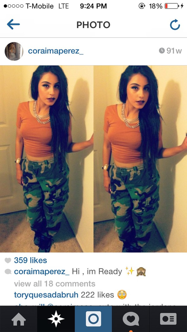 jeans camouflage girl camouflage green camouflage