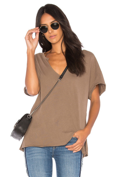 Free People taupe top