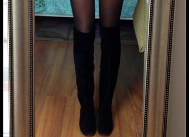 shoes thigh boots