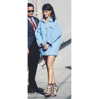 coat rihanna fashion love style