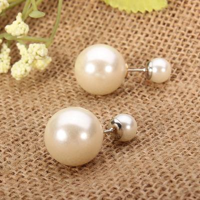 Pearl earrings · summah breeeze · online store powered by storenvy