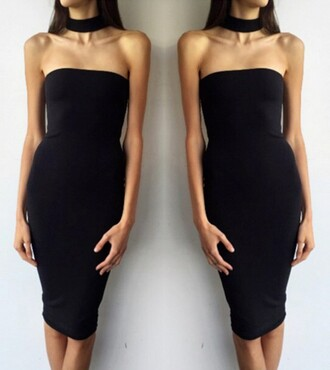 dress girly girl girly wishlist bodycon dress bodycon black dress black choker necklace sexy sexy dress sexy party dresses party dress party outfits summer summer dress summer outfits pool party cute cute dress girly dress