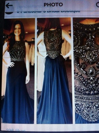 dark blue prom dress glitter dress grey dress formal event outfit dress long prom dress long dress no sleeves sleevless dress sleevless