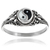 Tressa Collection Sterling Silver Yin Yang Ring | Overstock.com Shopping - The Best Deals on Sterling Silver Rings