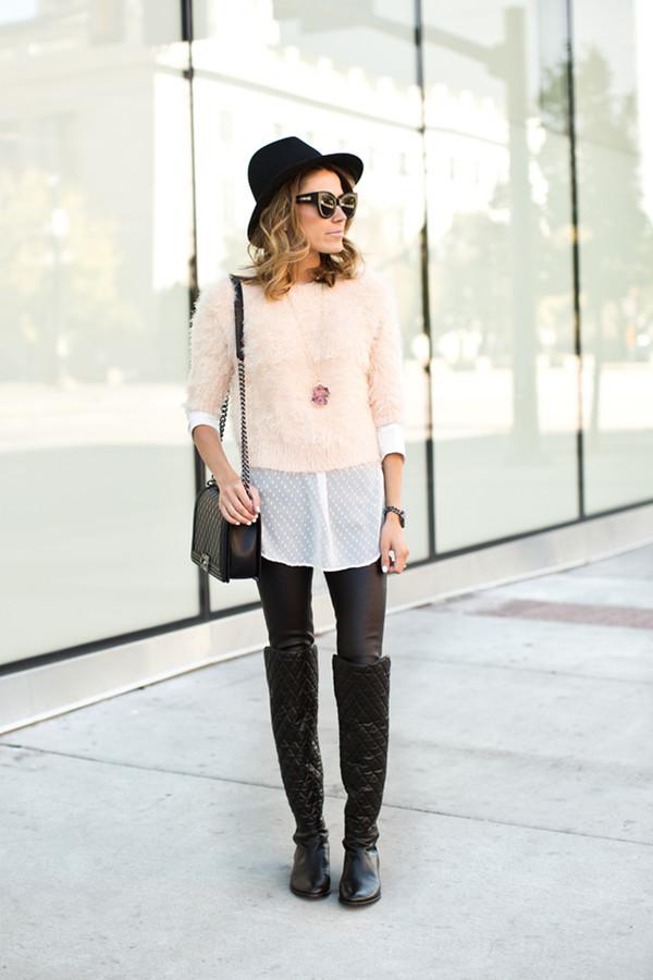 hello fashion blogger blouse jewels sunglasses bag