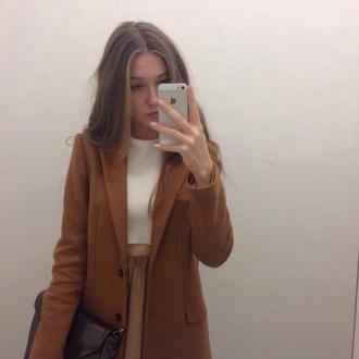 coat wool wool coat indie hipster