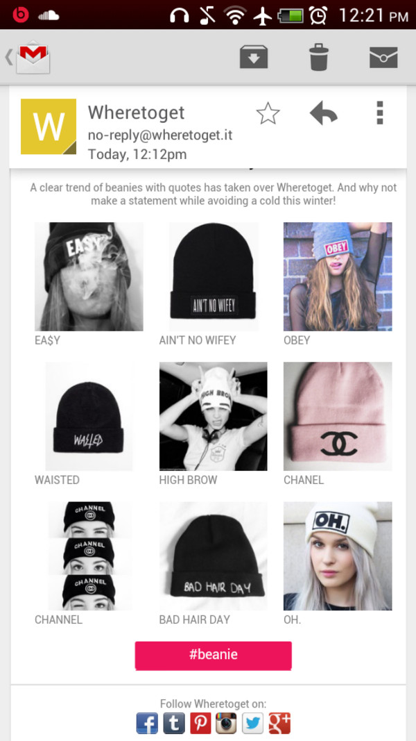 hat beanie beanie graphic tee