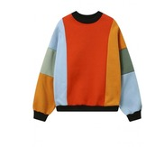 sweater,girl,girly,girly wishlist,sweatshirt,colorful,colorblock