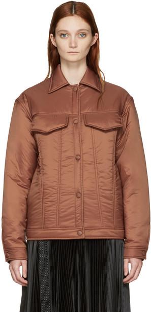 Stella McCartney jacket brown