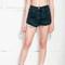 Turquoise studded shorts - pop sick vintage
