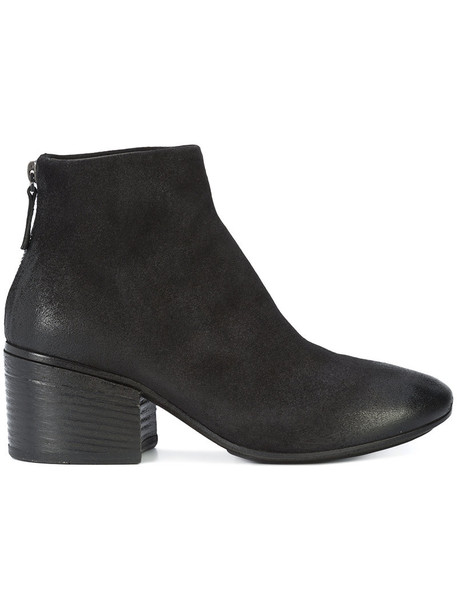 Marsèll women ankle boots leather black shoes
