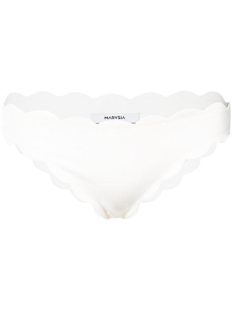 Marysia bikini bikini bottoms women spandex white swimwear