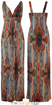 dress,long dress,maxi dress,paisley,floral,casual,summer,spring,women,elegant,grecian maxi dress,hippie,hindu