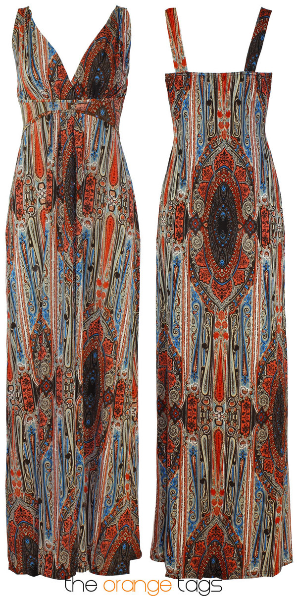 dress long dress maxi dress paisley floral paisley casual summer spring women elegant grecian maxi dress hippie hindu