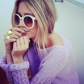 sunglasses,white,cream,contacts,girl,blonde hair